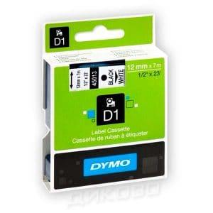 Касети Dymo D1 12mmX7m White 45013